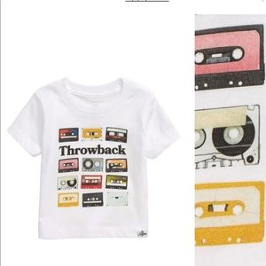 Kid Dangerous Cassette Throwback Tee 3-6 Months